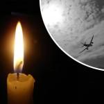 свеча и самолёт
